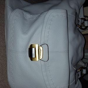 Makowsky white handbag